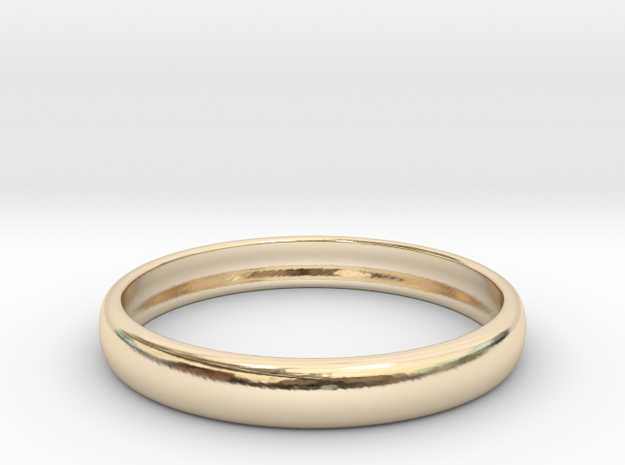 PA RingEasyCT12t08H3d185 in 14K Yellow Gold