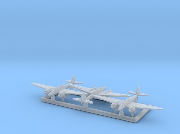 Ki-102b 'Randy' w/gear x3 (FUD) in Smooth Fine Detail Plastic: 1:700