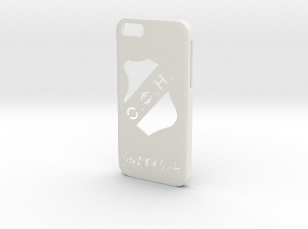Iphone 6 OFI case in White Natural Versatile Plastic