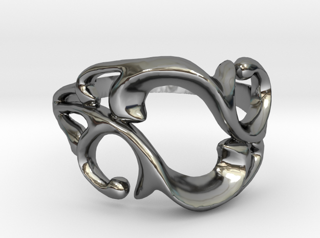 'Like Vines We Intertwine' Ring
