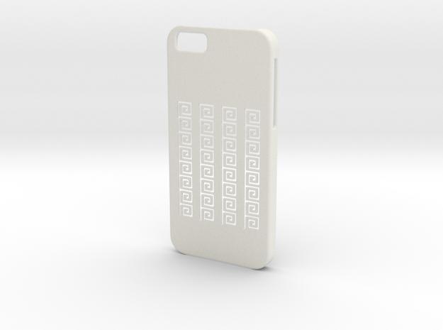 Iphone 6 Case.meandros in White Natural Versatile Plastic