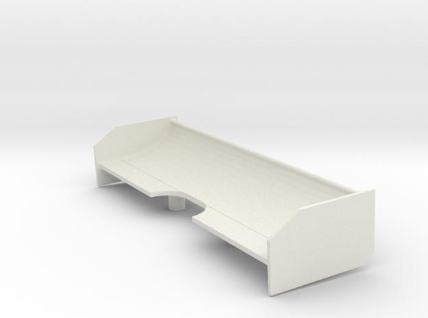 McLaren C12 Wing in White Natural Versatile Plastic