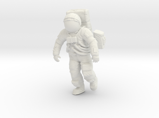 1: 24 Apollo Astronaut a7lb Type / Walking in White Strong & Flexible