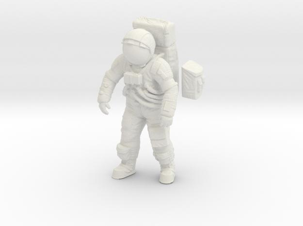 1: 24 Apollo Astronaut a7lb Type / Standing Pos. in White Natural Versatile Plastic