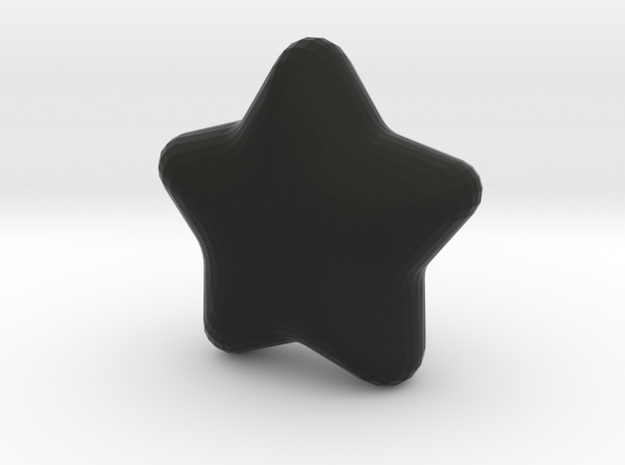 Cute candy Star in Black Strong & Flexible
