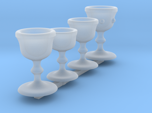Chalice Set 1 in Frosted Ultra Detail