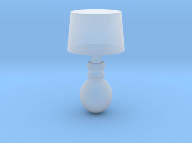 Miniature 1:48 Table Lamp in Smooth Fine Detail Plastic