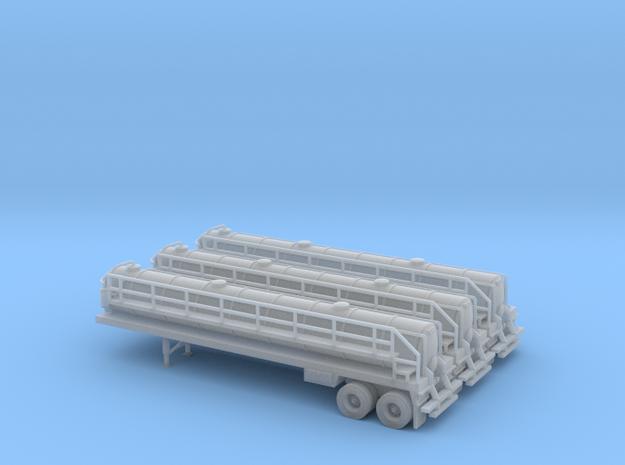 N scale 1/160 Crude oil trailer, Troxell 130 x3