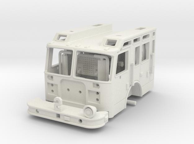1997 Philadelphia KME Snorkel Cab 1/64 in White Natural Versatile Plastic
