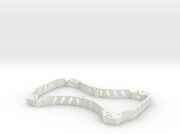 MB Epic Mini 280 Spacer Cage in White Strong & Flexible