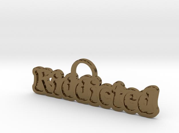Kiddicted-901 in Polished Bronze