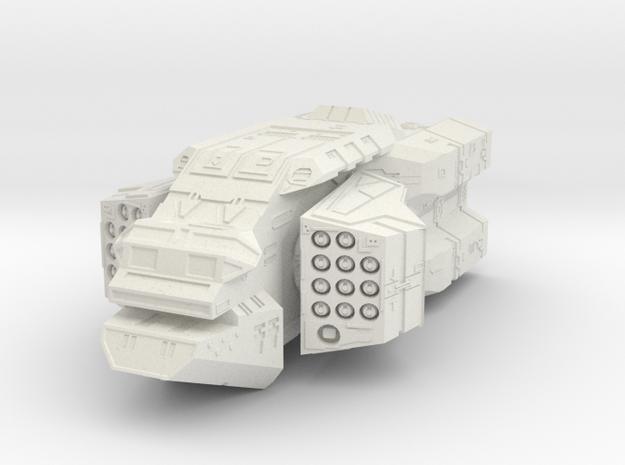 """Turanic Raider """"Brigand"""" Missile Corvette 3d printed"""