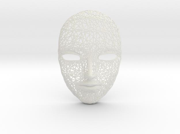 Wiremask in White Natural Versatile Plastic