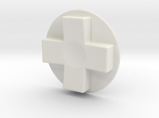 Tinker: D-Pad MK6 in White Natural Versatile Plastic
