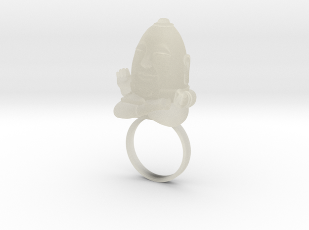 HUMPTY BUDA RING 3d printed