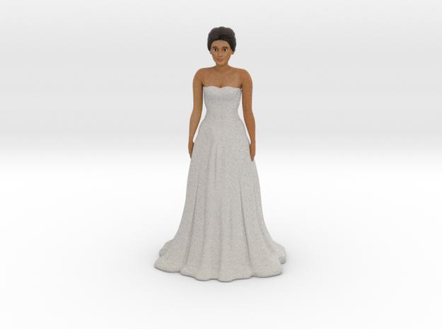 Tan Brunette Bride (v.1) in Full Color Sandstone