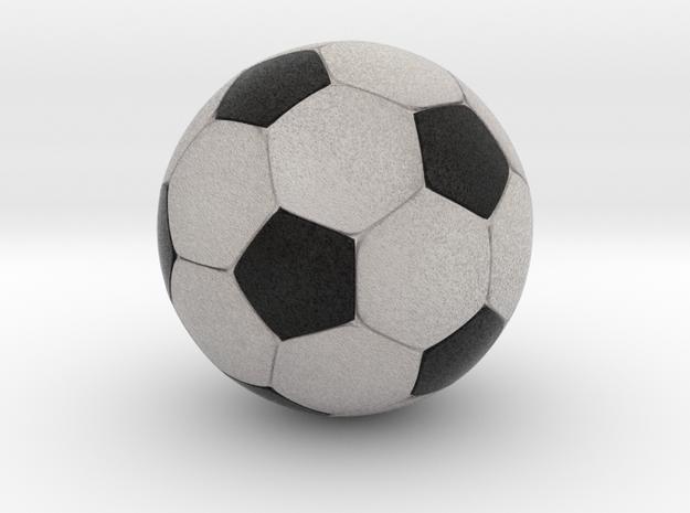 Foosball 3.43cm diameter in Full Color Sandstone