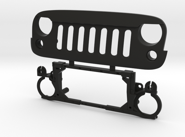 AW10001 Wraith ANGRY eye grill & mount in Black Strong & Flexible