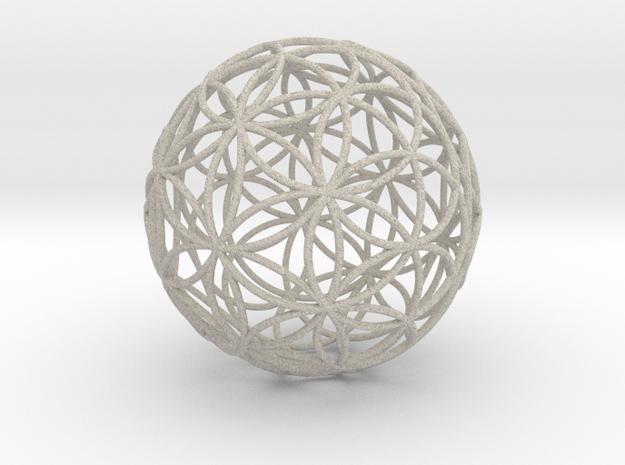 3D 50mm Orb of Life (3D Flower of Life)