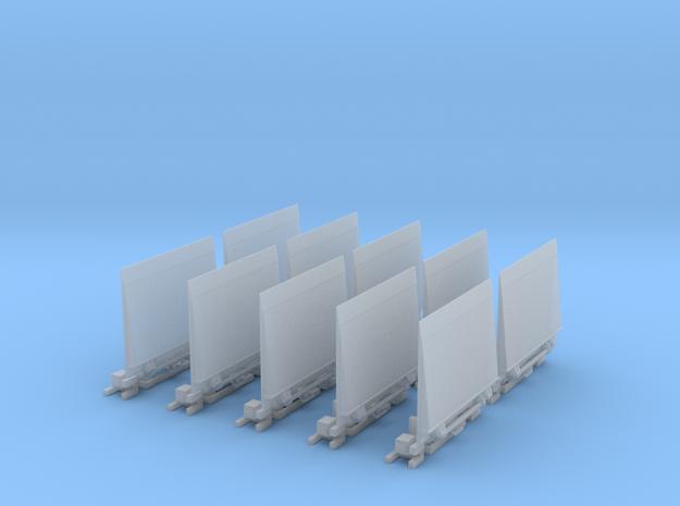 Ladebordwand GW-Versorgung 10x  in Smooth Fine Detail Plastic