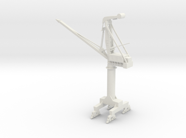 big PHB crane  in White Natural Versatile Plastic