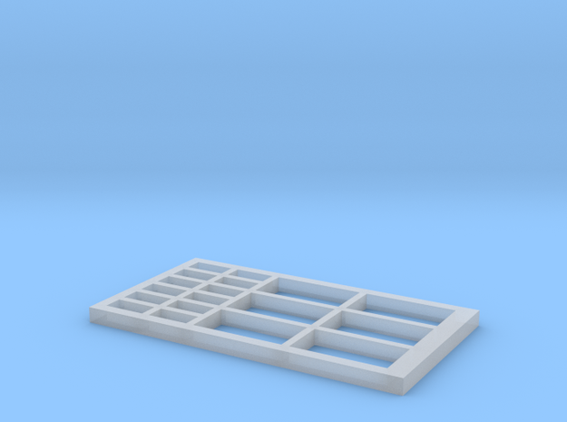 Signalbox Window March East 3 in Smooth Fine Detail Plastic