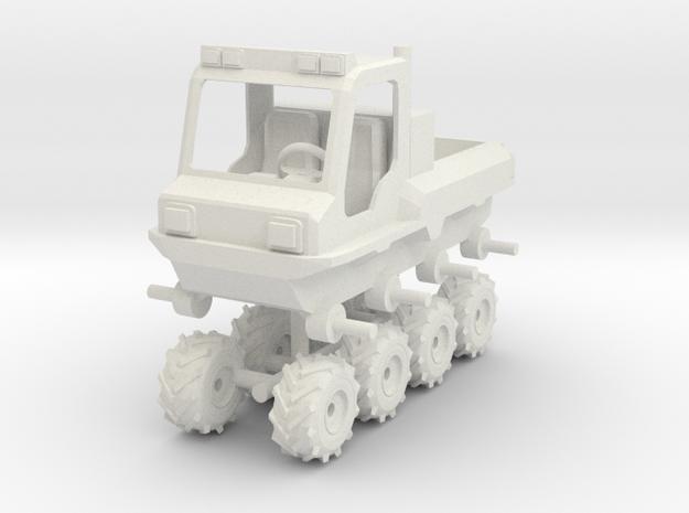 1/64 Scale AVP 8x8 in White Natural Versatile Plastic