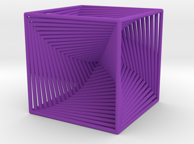 0045 Cube Line Design (3.25 cm) #001