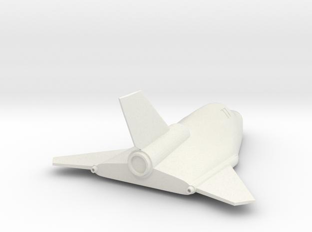 1/72 MIG 105 SPIRAL SOVIET SPACE PLAN - REENTRY in White Natural Versatile Plastic