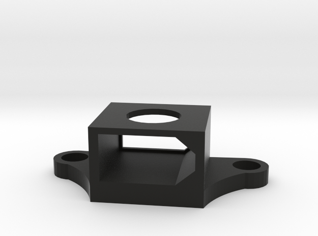 XT60 holder / mount for ZMR250 frame quadcopter  in Black Natural Versatile Plastic