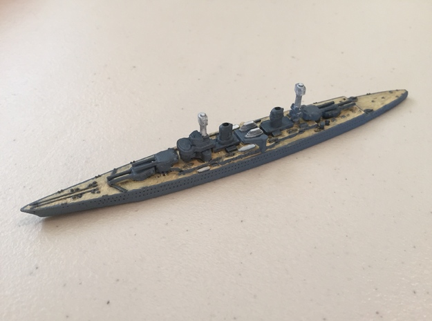 1/1800 USS Lexington BC (1918) in White Strong & Flexible