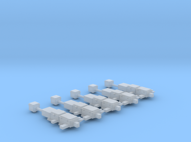 N Scale Switch Machines (5) M3 in Smooth Fine Detail Plastic
