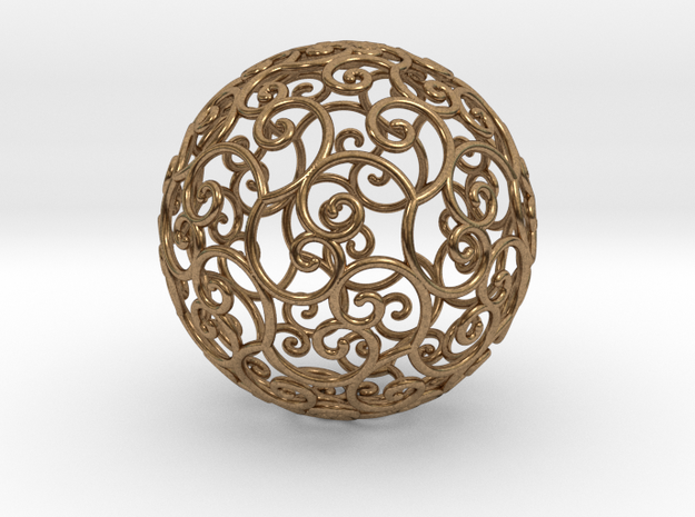 Triskel celtic sphere 3 (2,8+4)