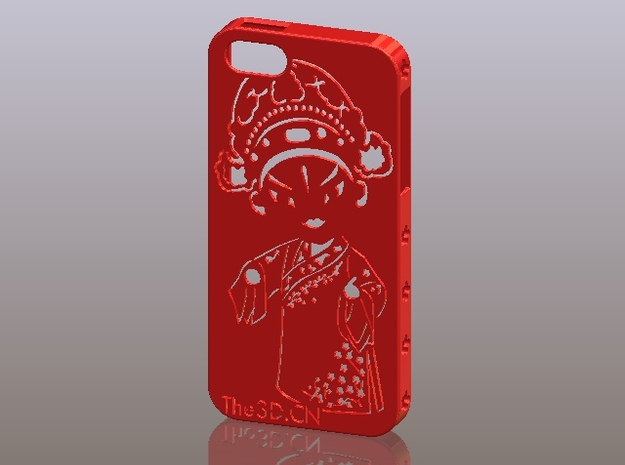 iPhone5_The Chinese Style--Traditional Opera 10 3d printed