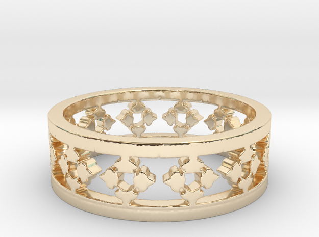 Endless Knight  Ring Size 14 in 14K Gold