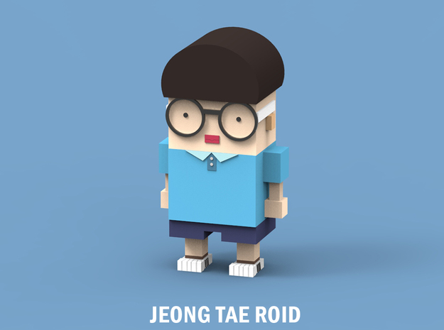 jeongtae roid in White Natural Versatile Plastic