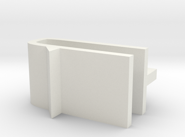 Ranger EX Canopy Lock Clip Mechanism in White Natural Versatile Plastic