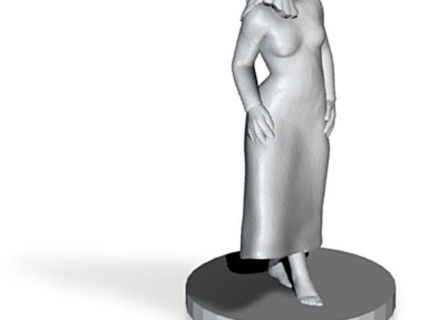 Girl Statuette 3d printed
