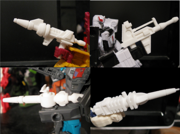 G1 Combiner Set: Volume One in White Natural Versatile Plastic
