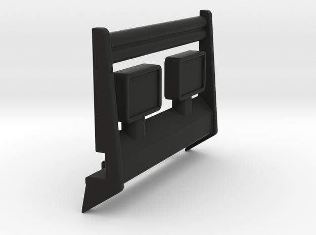 M.A.S.K Firecracker front bumper guard. in Black Natural Versatile Plastic