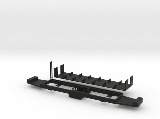 Fahrgestell Extertalbahn in Black Natural Versatile Plastic