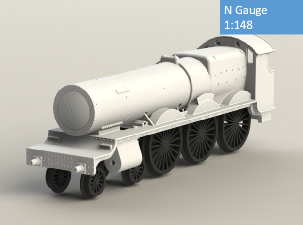 GWR Saint class locomotive, N Gauge in Frosted Extreme Detail