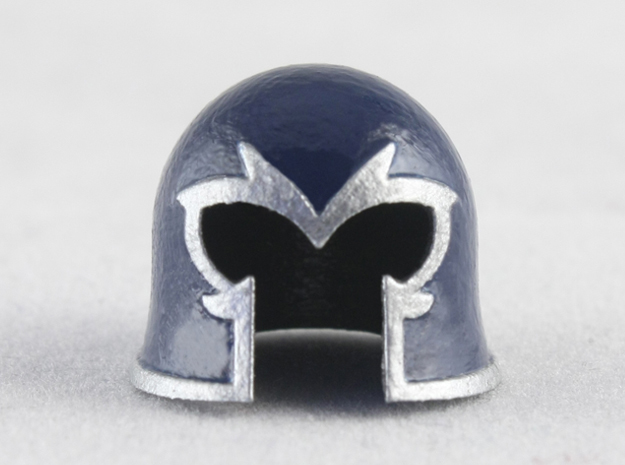 Magnet Helmet in Smooth Fine Detail Plastic