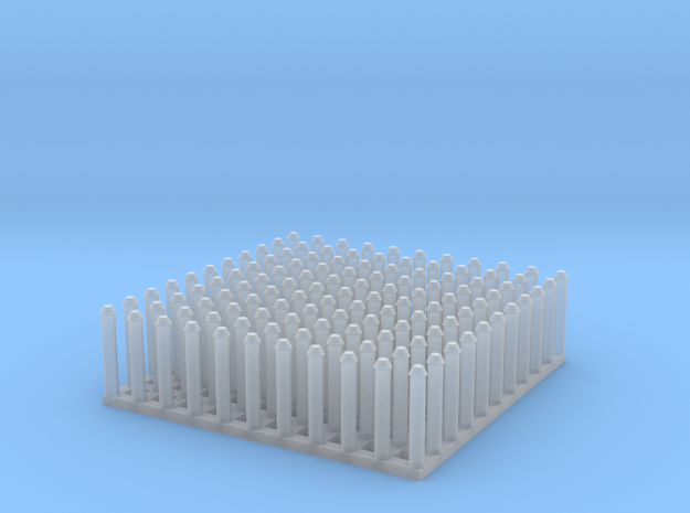 "1:24 Conical Rivet Set (Size: 0.625"") in Smooth Fine Detail Plastic"