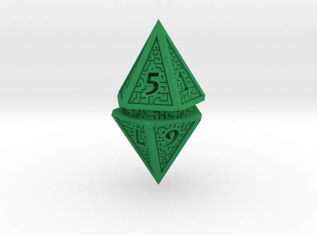 Hedron D10 Spindown Life Counter - SOLID DIE