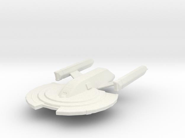 USS COOPER in White Natural Versatile Plastic