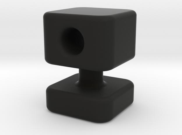 Knob 13 in Black Natural Versatile Plastic