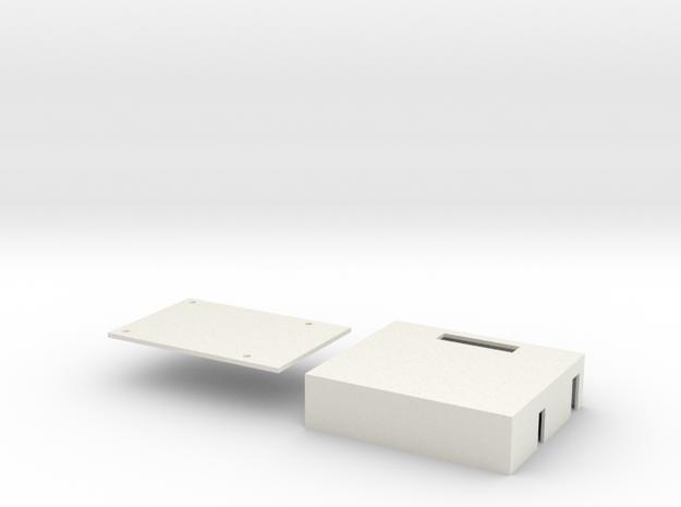 Hitec MG82 Server Tray - Left in White Natural Versatile Plastic
