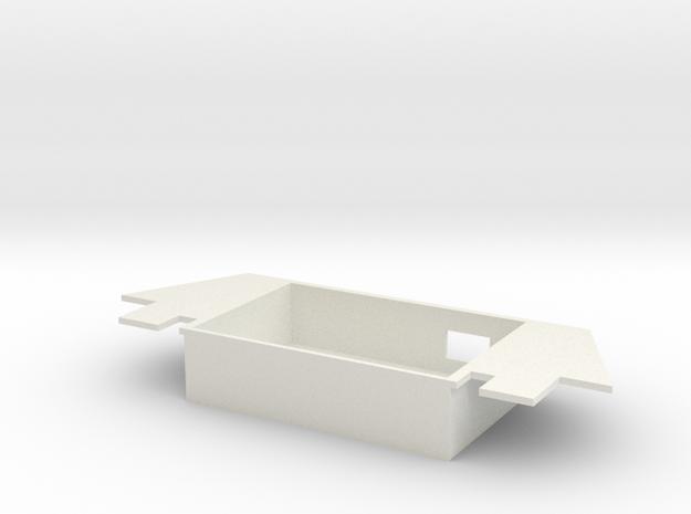FX-61 Phantom Rear Tray in White Natural Versatile Plastic