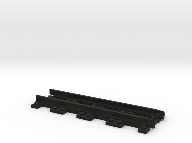 Narrow Gauge Straight in Black Strong & Flexible